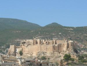 Modern-day Masyaf castle.