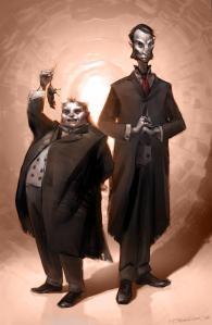 Mr. Croup and Mr. Vandemar