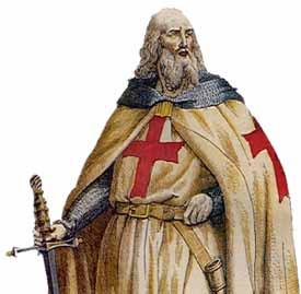 A Knight Templar.