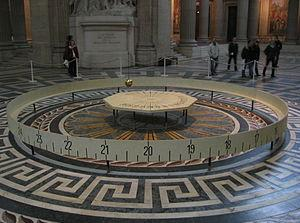 Foucault's Pendulum, in Paris
