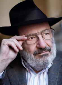 Umberto Eco, author of Foucault's Pendulum and The Name of the Rose