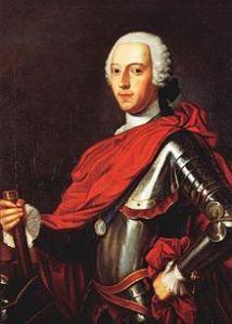 Prince Charles Edward Stuart (Stewart), aka Bonnie Prince Charlie, the Pretender