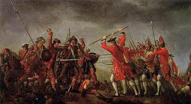 Culloden battle