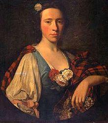 Flora Macdonald, the Jacobite hero.