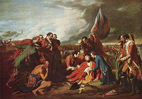 Death of James Wolfe