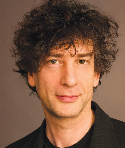 Neil Gaiman, author of The Ocean at the End of the Lane