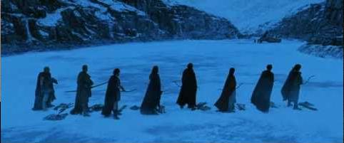 Arthur's knights stranded in the Arctic.