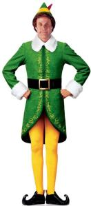 Will Ferrel as Buddy the Elf in Elf. A modern case of an elf-changeling?