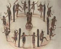 John White Watercolour Native American Ritual http://wp.me/p32Kr4-aF