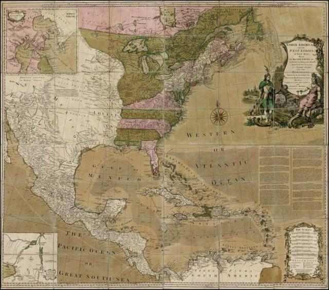 The British would later found the Thirteen Colonies that would becomes the United States--and conquer Canada from the French.