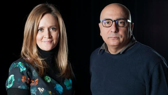 Samantha Bee (left) defended Cockroach by Rawi Hage (right) on Canada Reads