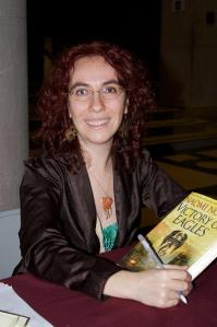 Naomi Novik, author of His Majesty's Dragon
