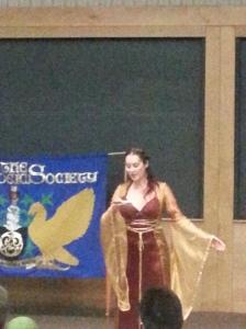 Sorina Higgins as Morgeuse