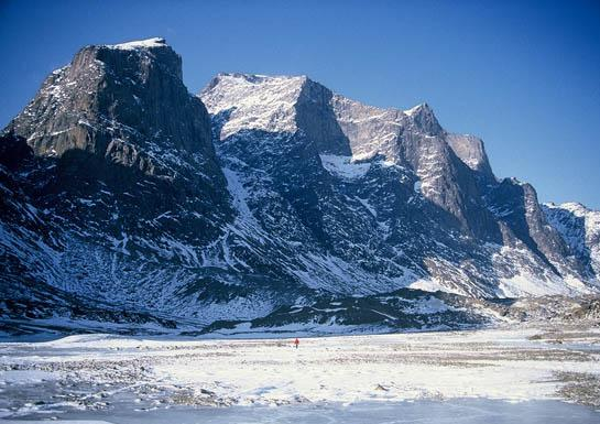 Mt. Odin on Baffin Island. Fairly self-explanatory Nordic connection and cinematographic value!