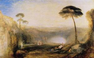 J.M.W. Turner's depiction of the Golden Bough incident in the Aeneid