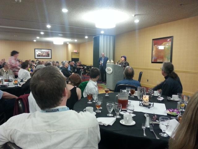 Jo Walton at the banquet