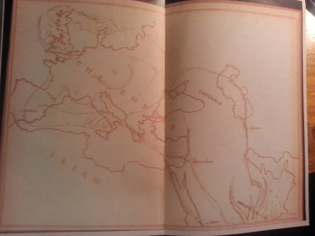 Williams's map from the Arthuriad